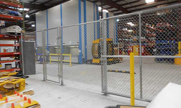 Commercial Fencing Aside Image